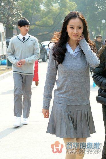杨幂:高中时代只有暗恋