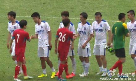 梅州五华vs上海申花结果输了